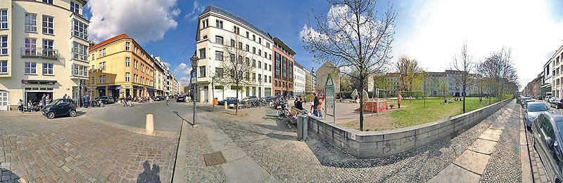 Auguststrasse Ecke Joachimstrasse