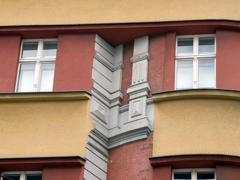 Fassadendetail Neue Schoenhauser Strasse