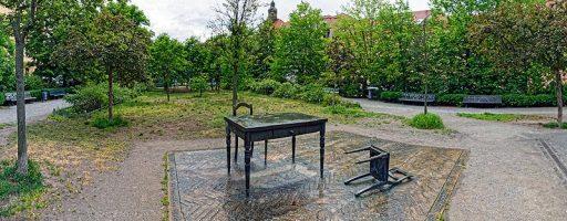 Koppenplatz Denkmal