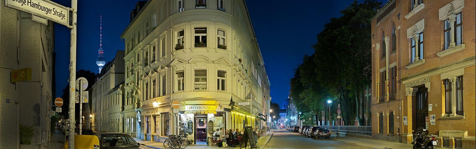 Restaurant Sophiieneck, Spandauer Vorstadt Berlin